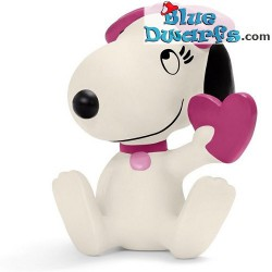 Belle with heart (peanuts/ Snoopy, 22030)