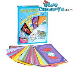 Quartet card game smurfs