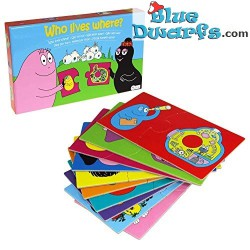 Barbapapa Puzzle who lives where (20 pieces)