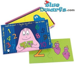 Barbapapa Puzzle Learn to count (20 pieces)