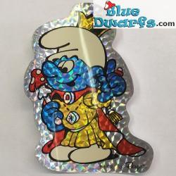 Smurf sticker (+/- 10cm)