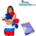 Boa red-whit-blue *Smurf colours* 1.8 meter