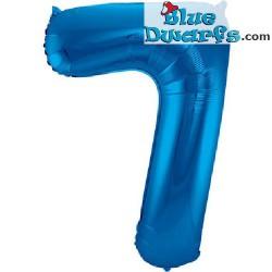 1x Schlumpf blau Nummer(34inch/86cm)