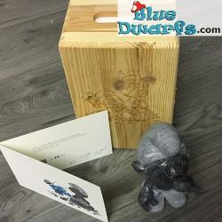 Puppy/ IMPS Smurf blauw hardsteen (70 stuks gelimiteerd)