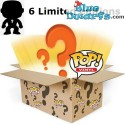 6x Funko Pop! MYSTERY BOX With at least 1 Exclusive/ Chase