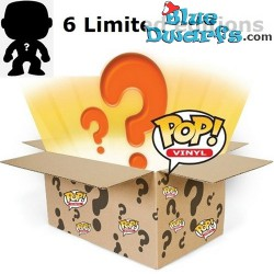 6x Funko Pop! Mystery pack met minstens 1 Exclusive/ Chase