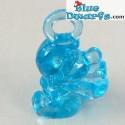 Sleepwalker MINISMURF Transparant/blue (+/- 2cm)