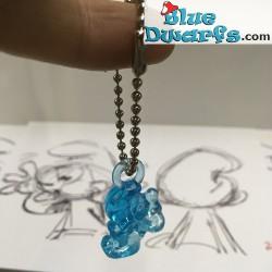 Somnambule Mini Schtroumpf *transparent /bleu* (+/- 2cm)
