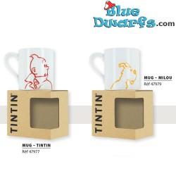 5x mug tintin (25 cl)