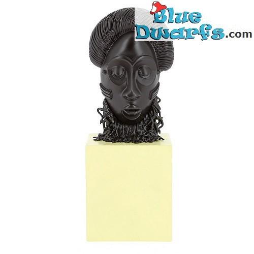Statue Musée imaginaire: Tintin african mask (Moulinsart/ 2019/ 14 cm)