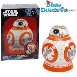 Star Wars -Keksdose mit Original-Filmsoundsa BB-8 (+/- 24cm)