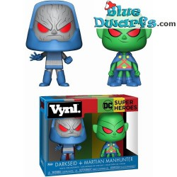 Funko Pop Darkseid &Martian Manhunter 2pack
