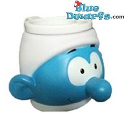 1x Smurf ice mug (plastic)