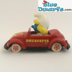 """Smurfette in """"SMURFETTE"""" car ESCI  (NM)"""