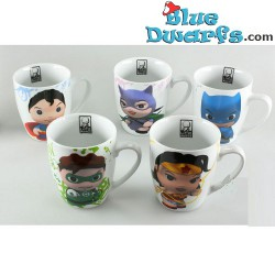 5x  DC comics mug (25 cl)