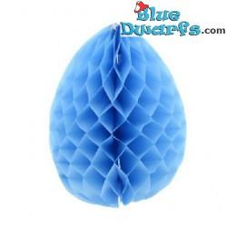 Smurf blue Paper egg blue...
