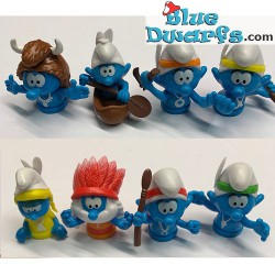 8x Smurf native americans...