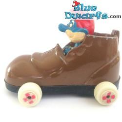 Papa smurf in shoe car ESCI (VG)