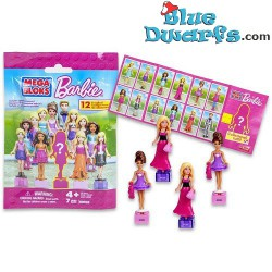 12x Mega Blocks Barbie...
