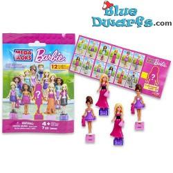 12x Mega Blocks Barbie