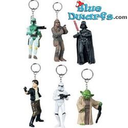6x Star Wars 5cm (keyring)...