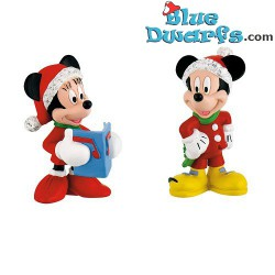 Mickey Mouse + Minnie Mouse...