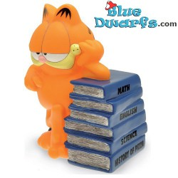 Garfield moneybox with pile...