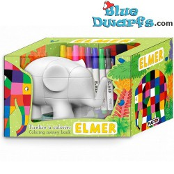 Elmer l'éléphant tirelire...