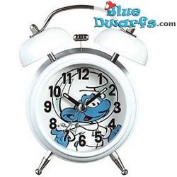Astro smurf alarm clock...