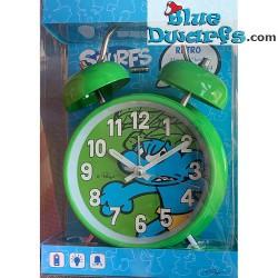 Jungle smurf alarm clock...