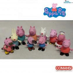 Peppa Pig familie speelset...