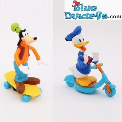 Mickey Mouse + Donald Duck...