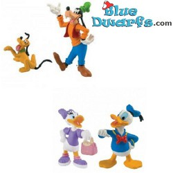 Donald Duck, Daisy, Pluto...