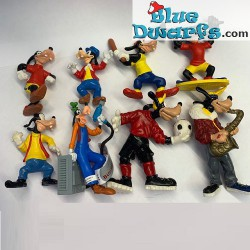 8x Goofy Disney Bullyland...