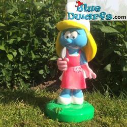 Smurfette with spade (Goldie Marketing, +/- 30 cm)