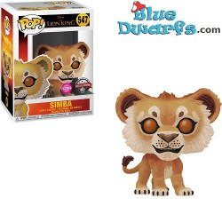 FLOCKED EXCLUSIVE Funko...