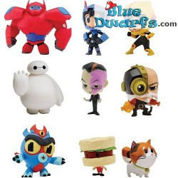 9x Disney Big Hero 6 (+/-6 cm)