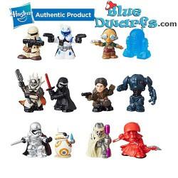 12x Star Wars Mini's...