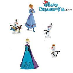 Frozen playset with snowman...