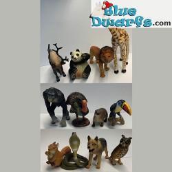 12x Wildlife Tieren (4-12cm)
