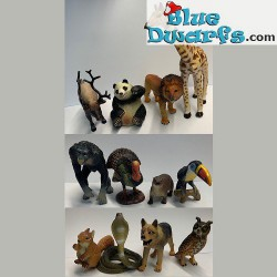 Playset 12 animals (4-12 cm)