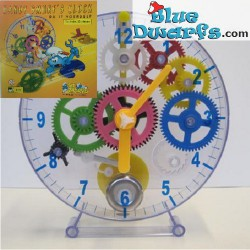 L'horloge du schtroumpf bricoleur