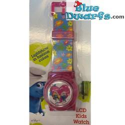 Smurfette  watch *LCD Heart...
