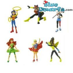 6x DC Comics Super Hero...