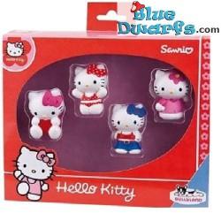 4x Hello Kitty +/- 6cm...