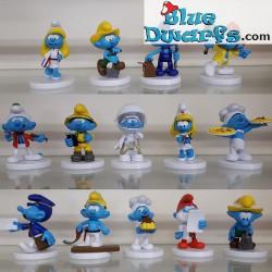 14x Professional Smurfs...
