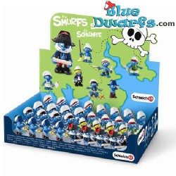 20760- 20767 (2014): Pirates Smurfs (8 smurfs)