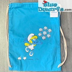 Smurf cotton Bag Atomium...