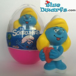 Smurfette in Love (holds red heart, 65552)