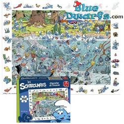 Smurf garden puzzle 150 pieces